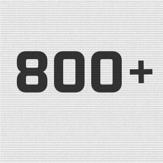 800+ Miles!